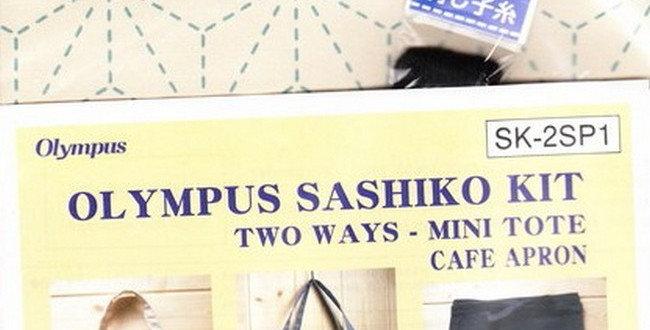 Olympus Sashiko 2-way Kit ~ Asanoha Off-White (SK-2SP1) x3