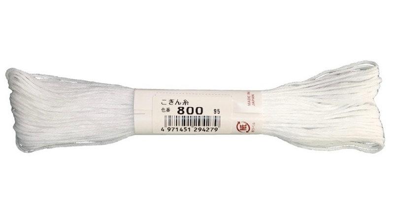 Kogin Thread 18mt - Bright White (pack of 3)