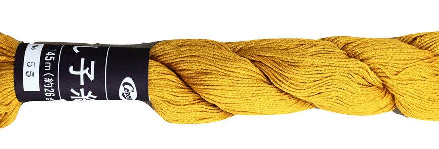 Coron Sashiko Thread - French Mustard (per skein)