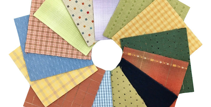 Sakizomemomen Cut Cloth Packs - Bright