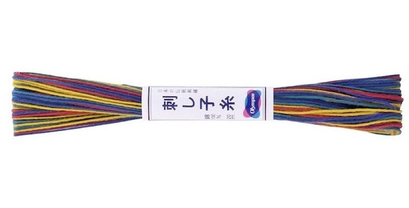 Olympus Sashiko Thread Variegated 20m ST-74 (6 skeins)