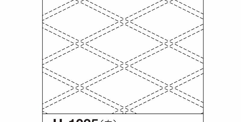 H-1035/H-2035 - Sashiko Sampler - Tasuki