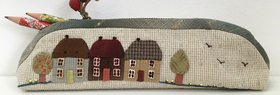 Mathilde's Cottages Pencil Case Pattern (PTPC-MAT)