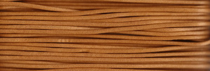 Waxed Cotton Cording *5mm - Camel 7 (1 card)
