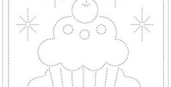 H-1005/H-6005) - Sashiko Sampler - Cupcake