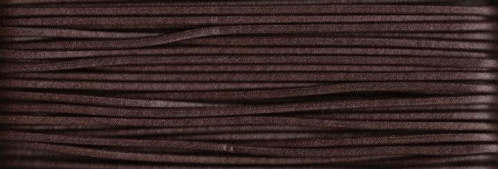 Waxed Cotton Cording *3mm - Dark Brown 25 (1 card)