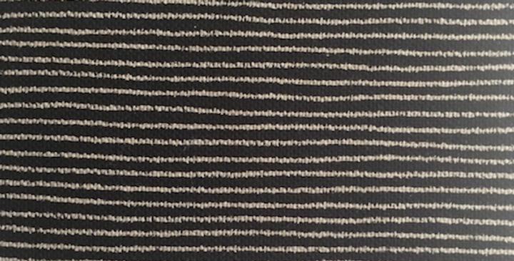 Takumi Fabric Thin Lines Black 5m