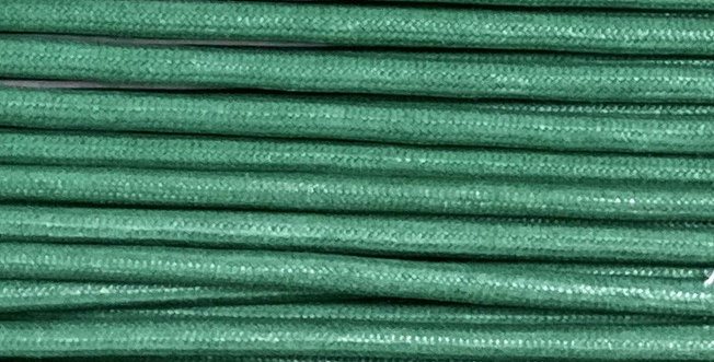 Waxed Cotton Cording *5mm - Forest Green 19 (1 card)