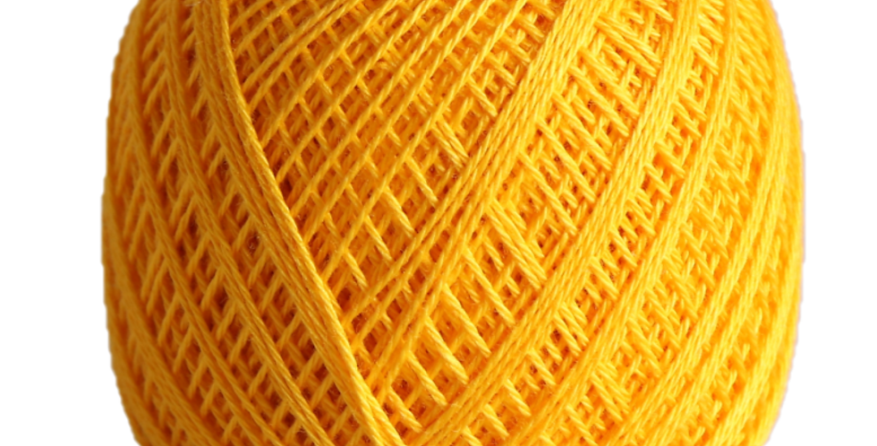 Sashiko Thread Fine Yellow 80m STF-216 (3 balls)