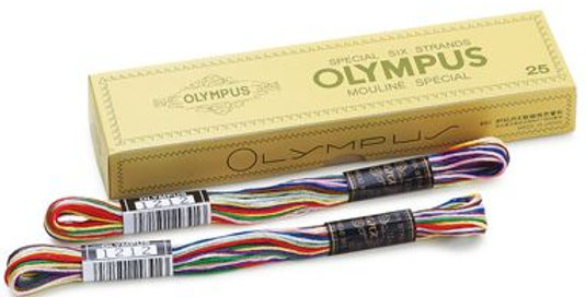 Olympus 'Colorful' 25 Embroidery Thread (12 skeins)