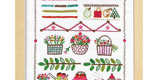 Embroidery Stitch Sampler 2039