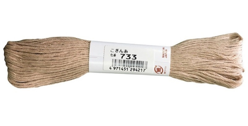 Kogin Thread 18mt - Bone (pack of 3)