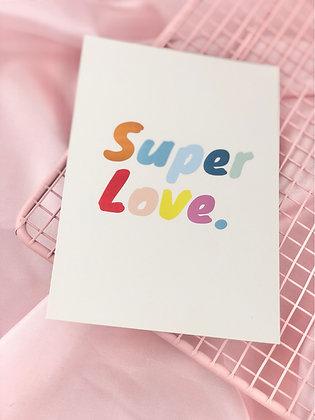 SUPER LOVE - POSTAL