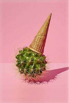 ICE CREAM CACTUS - Poster A4