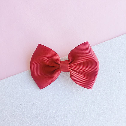 SIMPLE BOW (red)
