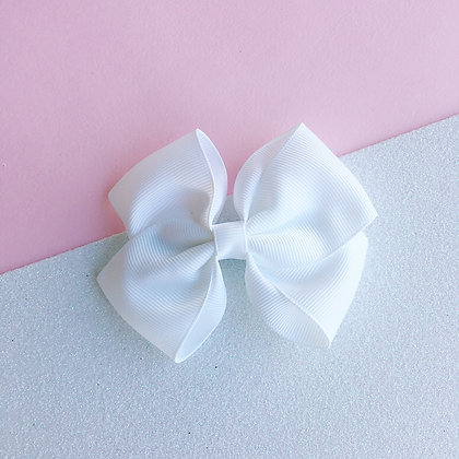 DOUBLE BOW (white)