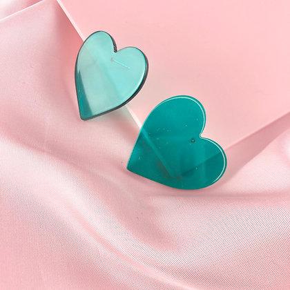 RETRO HEARTS (verde)