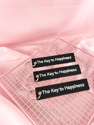KEY TO HAPPINESS - PORTA-CHAVES