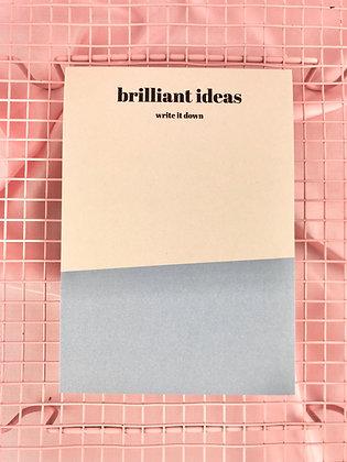 BRILLIANT IDEAS - BLOCO A6