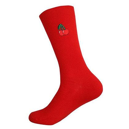CHERRY - MEIAS (vermelho)