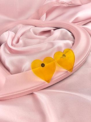 RETRO HEARTS (amarelo)