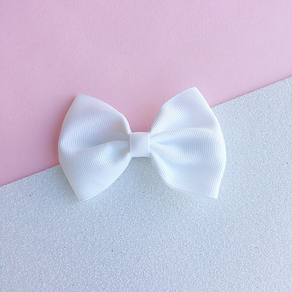 SIMPLE BOW (white)