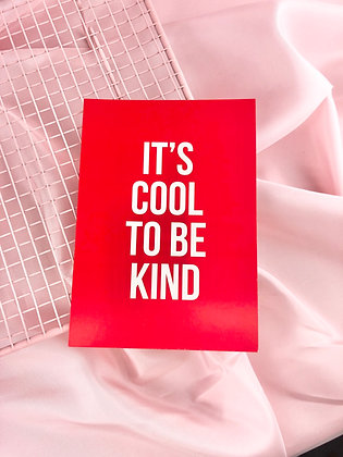 COOL TO BE KIND - POSTAL