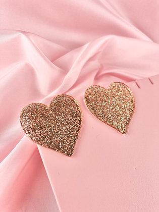 RETRO HEART (gold)