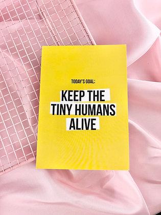 TINY HUMANS - POSTAL