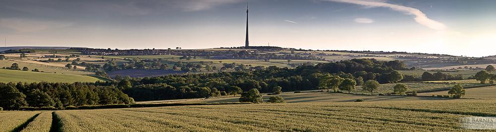 Emley moor mast Landscape Photography
