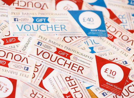 Photography vouchers available now!!!