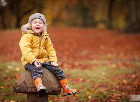 Autumn Photos at Beaumont Park Huddersfield
