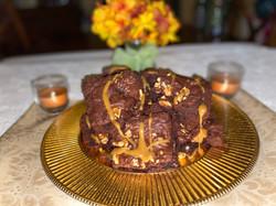Walnut Caramel Brownies