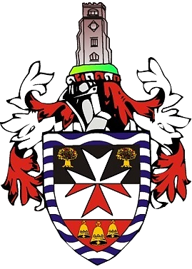 The coat of arms of the London Borough of Hackney, home to Eleven98
