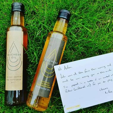 Duchess rapeseed oil