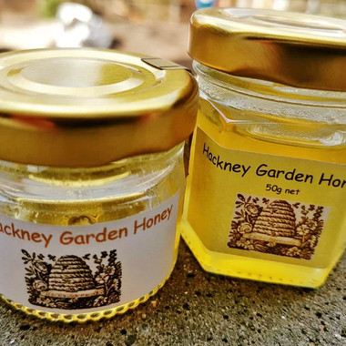 Hackney Garden Honey