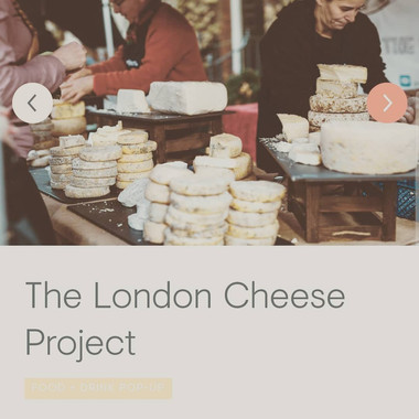 London Cheese Project
