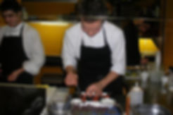 Aidan Brooks of Eleven98 working at Comerç 24 in Barcelona in 2007