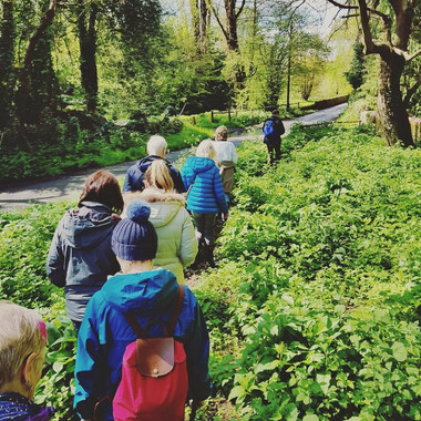 Guided foraging afternoon