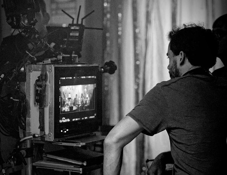 Florian Ross am Set von Vielmachglas