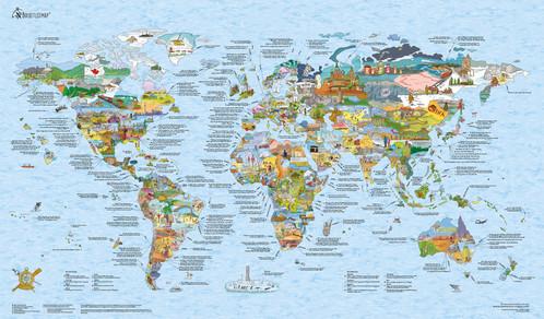 Bucket list world map re writeable gift map australia small bucket list world map re writeable gumiabroncs Image collections