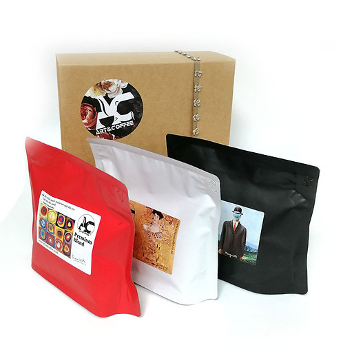 Signature Black, White and Red Gift Box