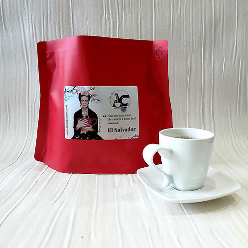 El Salvador Coffee (Frida Kahlo)