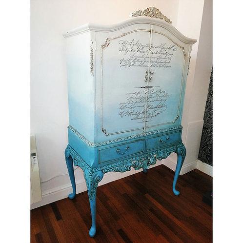 Queen Anne Style Designer Drinks Cabinet
