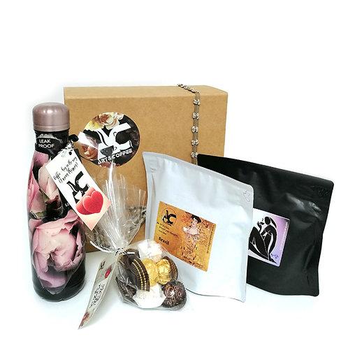 Gift Box with Kenya and Brazil Coffee