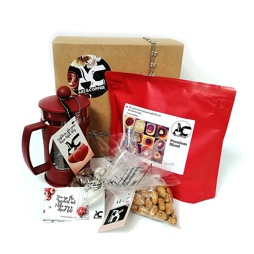 Gift Box with Premium Coffee Blend