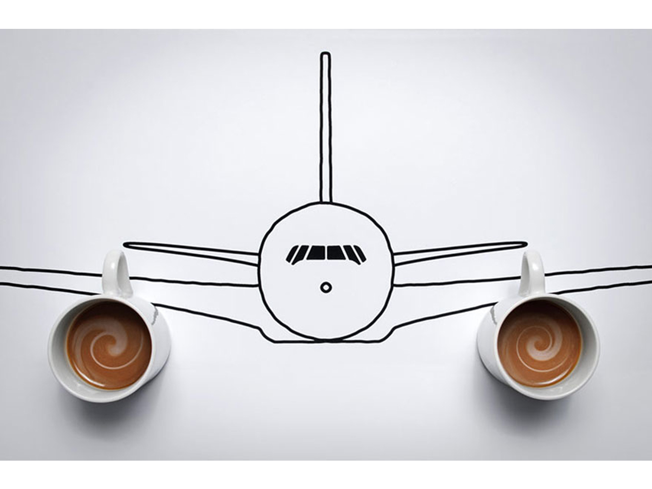 Takeoff in the morning Domenic Bahmann