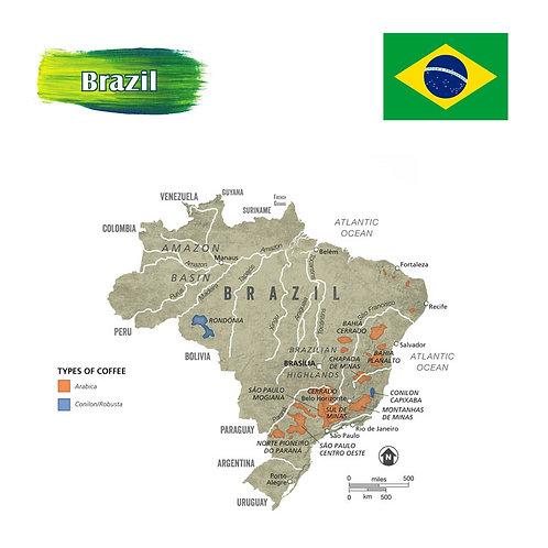 Green Brazil Coffee Beans 900g