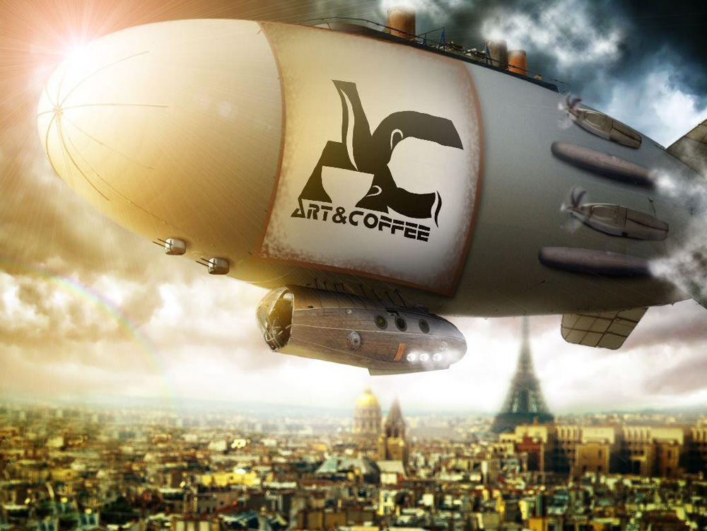 Airship over Paris