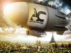 Airship over Paris
